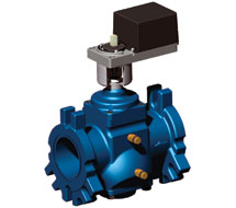 Pressure Regulating Flanged Control Valves VRW Series